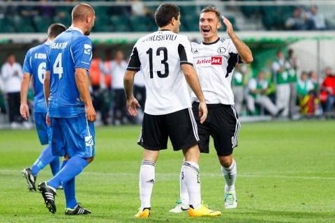 Legia Warszawa 1-0 The New Saints