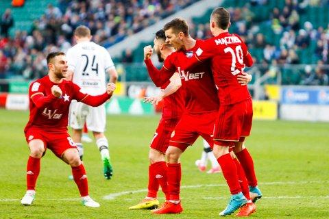 Legia Warszawa 1-1 Wisła Kraków - 30.04.2017