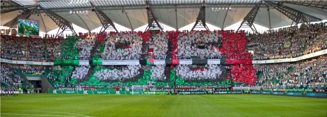 1916 - oprawa z meczu Legia Warszawa z Rosenborgiem Trondheim - 24.08.2012