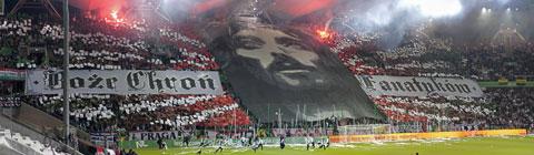 """Panorama oprawy """"Boże Chroń Fanatyków"""" - 13.10.2010"""