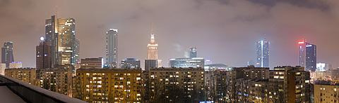 "Panorama ""Warszawa nocą - 2010"" - 29.11.2010"