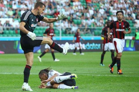 Legia Warszawa 0-0 Gaziantepspor