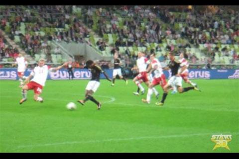 Zdjęcia 3D z meczu Polska 2-2 Niemcy
