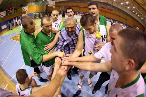 Legia 93-51 Legion Legionowo (+ VIDEO) - 29.10.2011