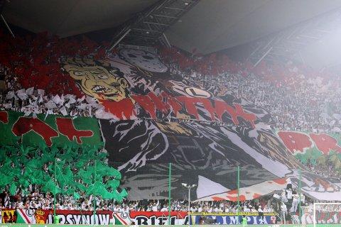 """Total! Bestial! Brutal!"" - panorama z meczu Legia Warszawa - Rapid Bukareszt - 03.11.2011"