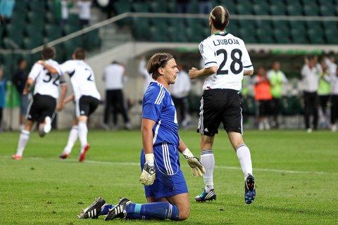 Legia Warszawa 3-1 SV Ried im Innkreis - 09.08.2012