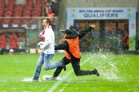 Polska - Anglia - mecz odwołany - 16.10.2012