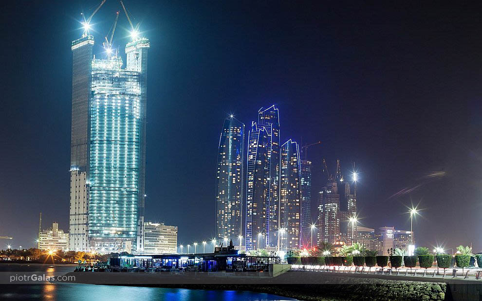Corniche Beach - Abu Dhabi - panorama