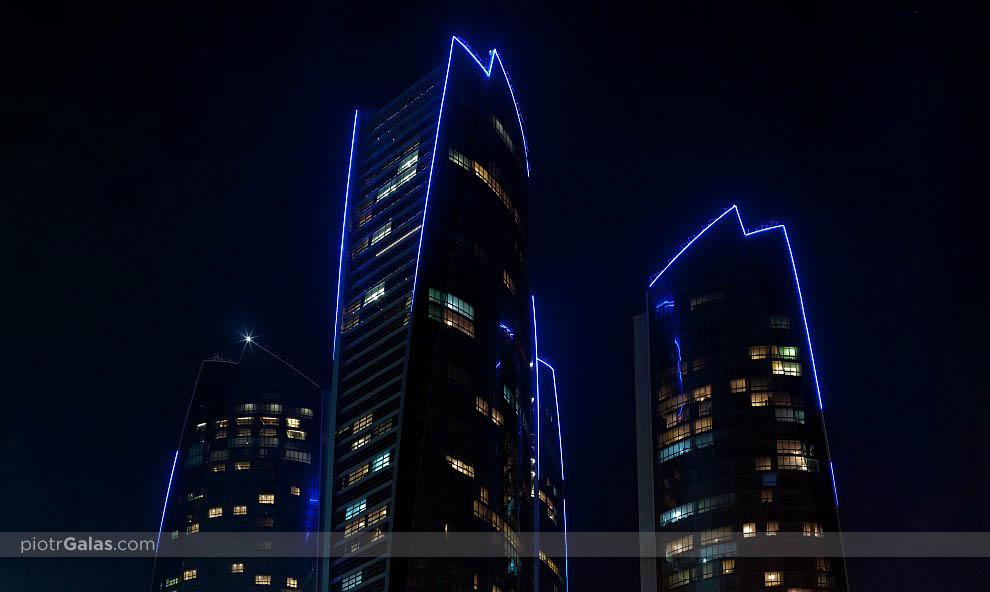 Etihad Towers - Abu Dhabi - panorama