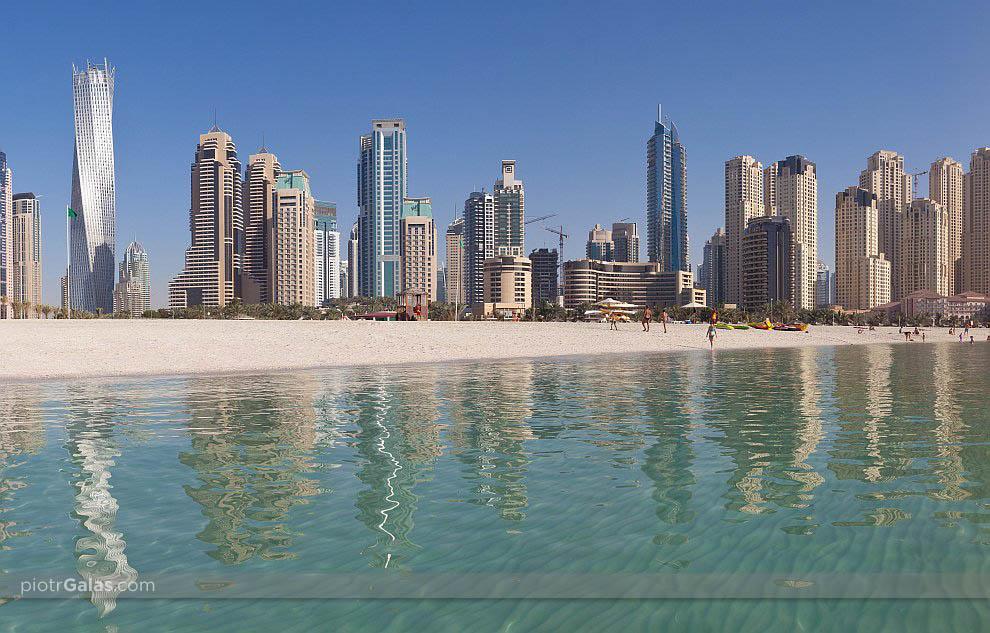 Jumeirah Beach Residence - Dubaj - panorama