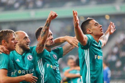 Legia Warszawa 3-0 Europa FC - 18.07.2019